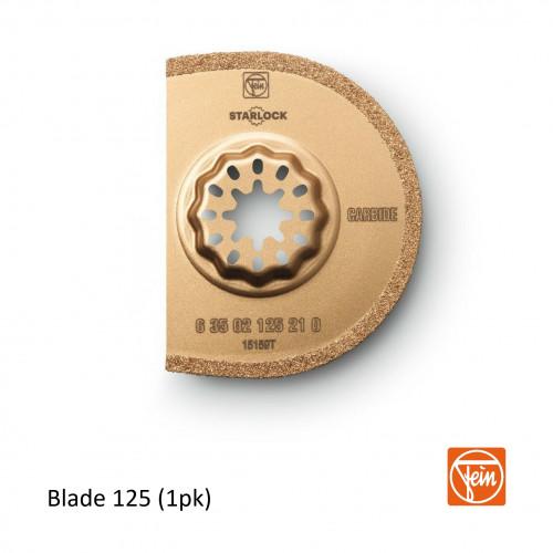 Fein - Starlock - Tungsten Carbide 125 form 75mm ø saw blade - 1.2mm cutting width - Single Pack