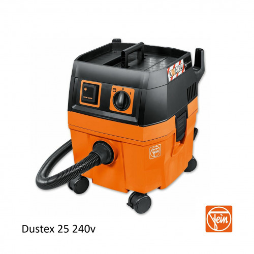 Fein - Dustex 25 - 25ltr Vacuum without Tool Kit - 230v