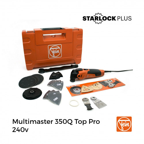 Fein - Multimaster 350Q - TOP Promotion - Quick release Starlock Plus - 240v
