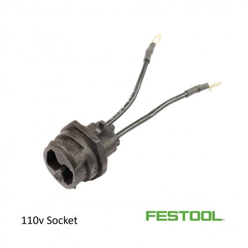 Festool - Plug-it Socket on Machine - 110v