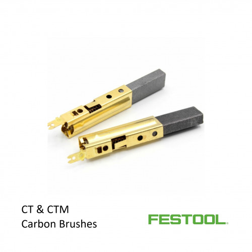 Festool - CT & CTM Brush Set for Vac Motor (price per pair)