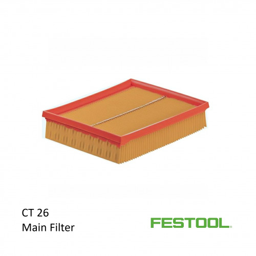 Festool - CT26 - Vacuum Main Filter - (496170)
