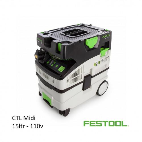 Festool - CTL MIDI - Vacuum - 15ltr 110v