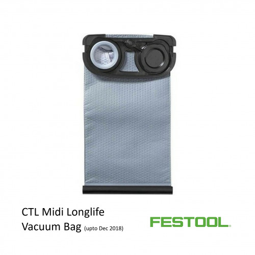 Festool - Longlife Bag - for Festool CTL Midi Vacuum - Until Dec 2018