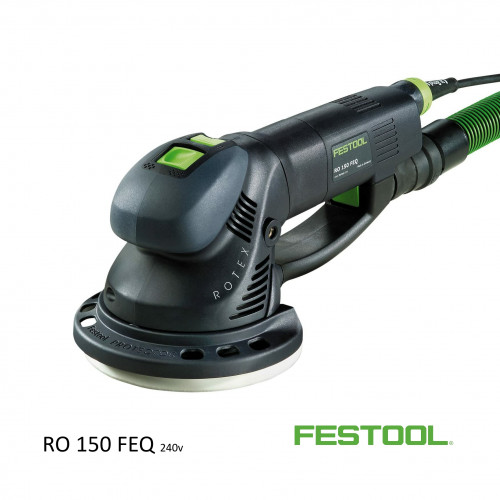 Festool - Rotex RO150 FEQ-PLUS - 240v (inc systainer)