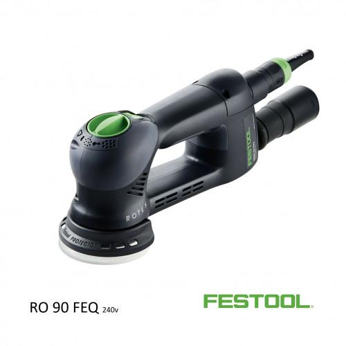 Festool - Rotex RO90 DX FEQ-PLUS - 240v (inc systainer)