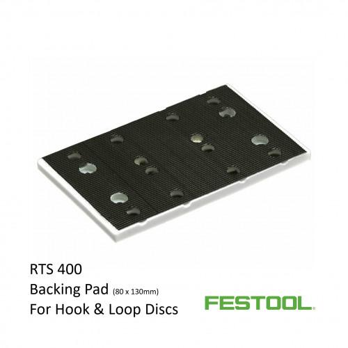 Festool - Rectangular Backing Pad - Fits RTS400 - 80x130mm - (489252)