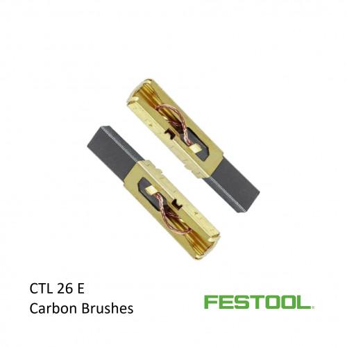 1pk: Festool - CTL26 E - Carbon Brushes - 240v - (2/pk)