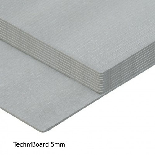 1pk: Fine Floor TechniBoard - 5mm Underlay (2.15 tog) - 1200x500mm - (10pcs/6m²pk)