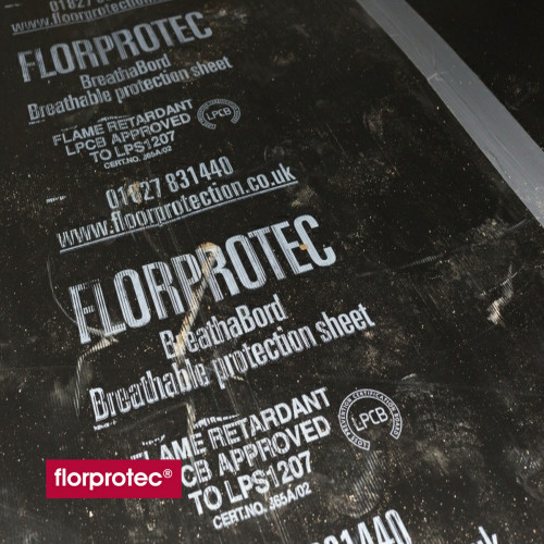 1 Sheet: Florprotec - Breathabord Heavy Duty - 1.2m x 2.5m x - (3m²/Sheet)