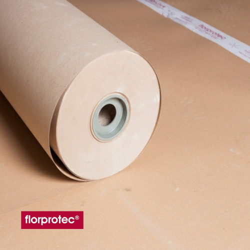 1 Roll: Florprotec - M65 - Medium 450 Micron Floor Protection Card - 1m x 100m