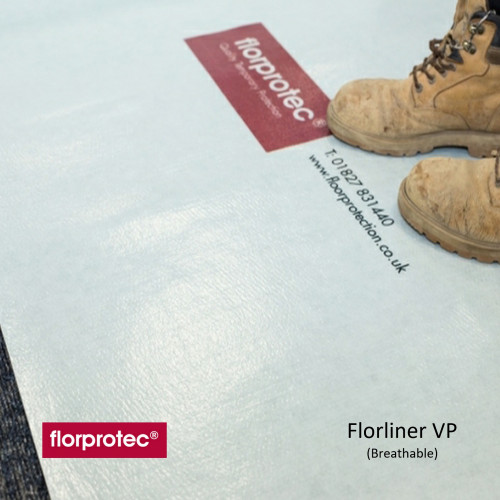 1 Roll: Florprotec - Florliner VP - Breathable Protection - 1m x 50m