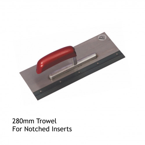 FS - Adhesive Trowel - for use with Notched Inserts - 280mm