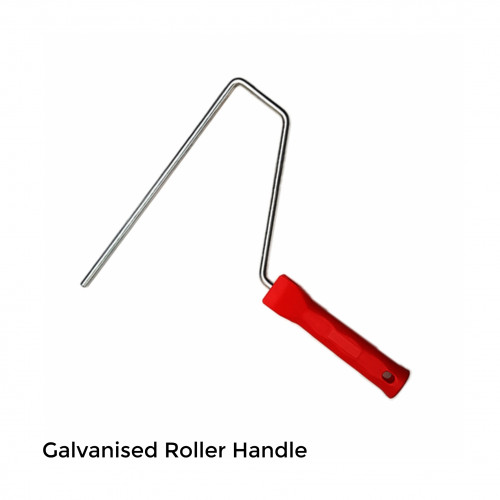 "FS - Galvanised Roller Handles - Push Fit System - 250mm - 10"""