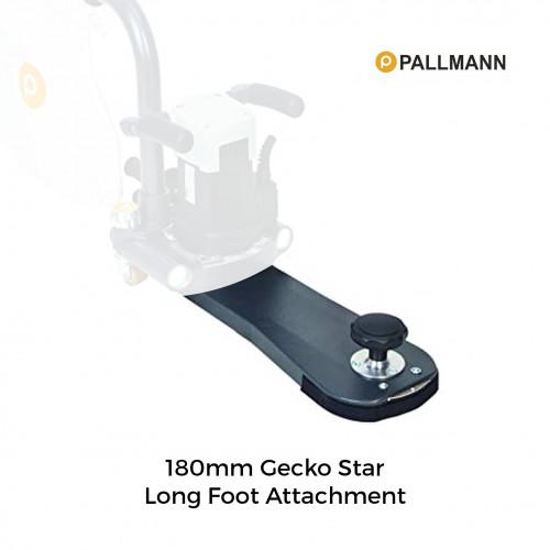 Pallmann - Gecko Star - Long Foot Attachment - 180mm