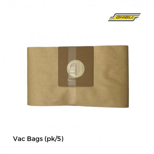 1pk: Ghibli - Buffer -Vac Bags - (5/pk)