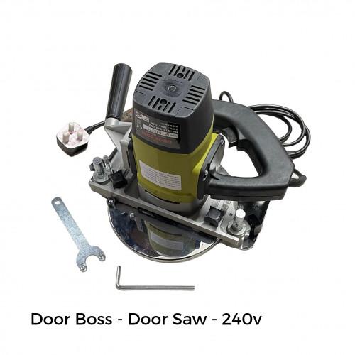 Janser - Door Boss - Door Saw - 240v inc Tungsten Carbide Blade & Lockable Metal Carrying Case