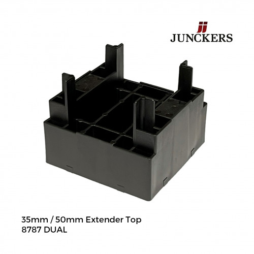1pk: Junckers - New Era - Dual Top Extender Tops - 35/50 - (180/pk)