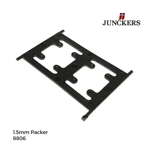 1pk: Junckers - New Era - Plastic Polypropelene Packers - 1.5mm - (300pcs/pk)