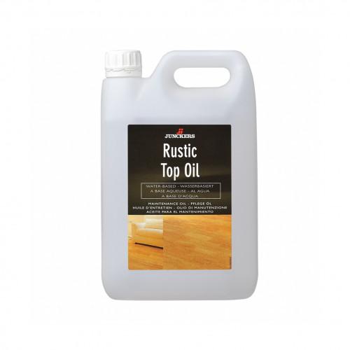 2.5ltr: Junckers - Rustic Top Oil - UltraMatt - Waterbased Aqueous Alkyd Oil