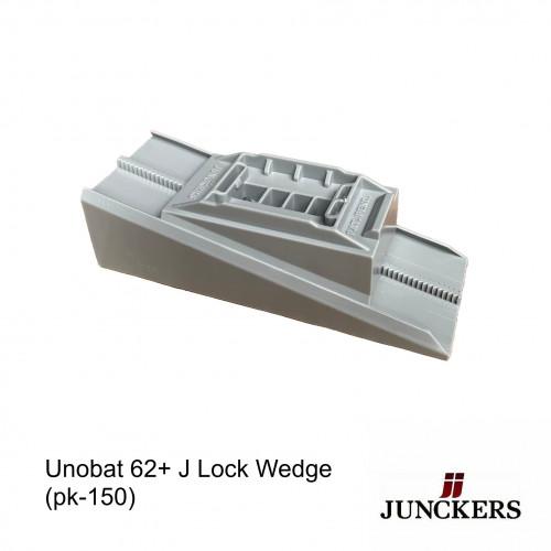 1pk: Junckers - UnoBat 62+ J Lock Wedge - (150/pk)