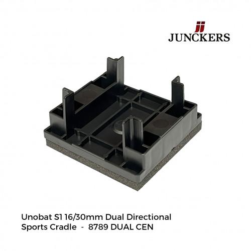 1pk: Junckers - New Era - UnoBat S1 Dual Directional Sports Cradle - 17/31mm - (420/pk) (8789 DUAL CEN)