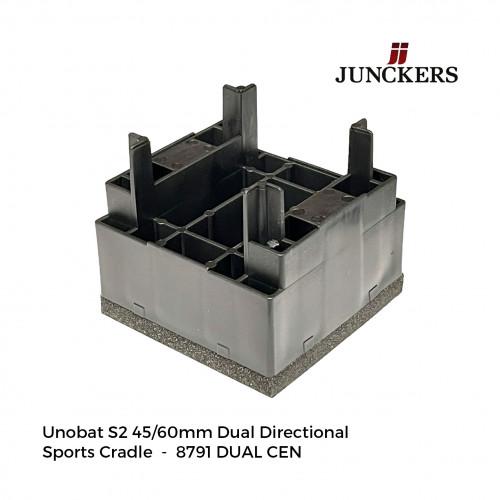 1pk: Junckers - New Era - UnoBat S2 Dual Directional Sports Cradle - 45/60mm - (180/pk)