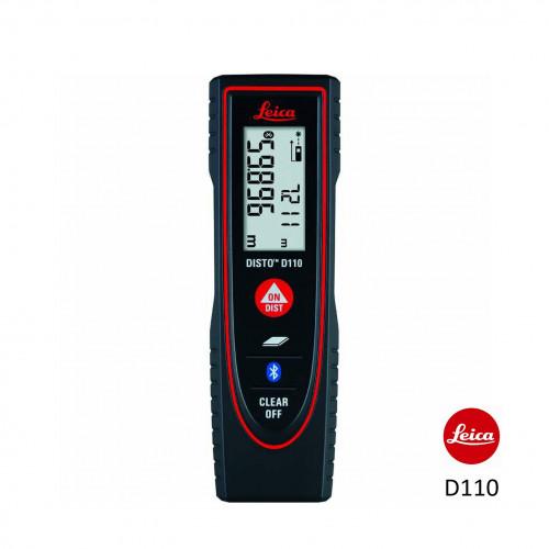 Leica - Disto D110 - Laser Measurement Tool (60m Range With Bluetooth)
