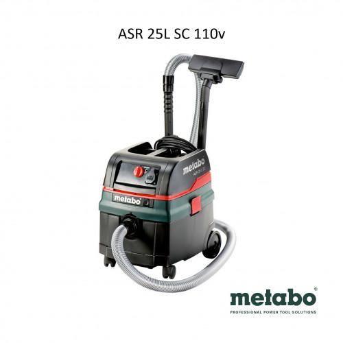 Metabo - ASR25L SC - Vacuum - 110V - 1200W (new model)