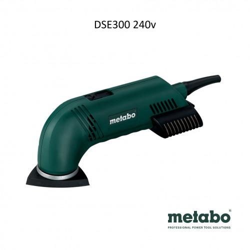 Metabo - DSE 300 - Tri Sander 240V - 300w (93mm x 93mm pad)
