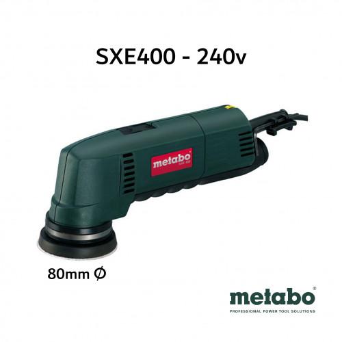 Metabo - SXE 400 - 80mm Random Orbit Sander - 240V