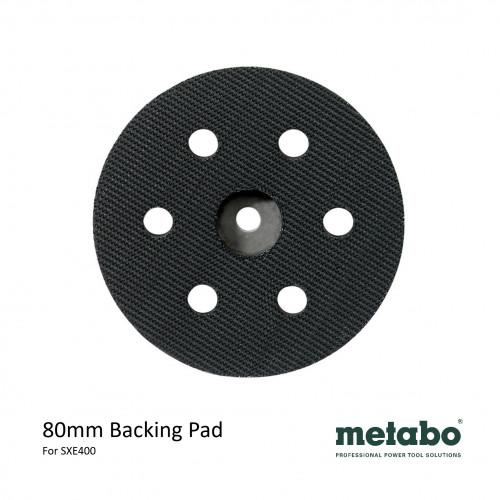 Metabo - SXE 400 - Hook & Loop Backing Pad - 80mm