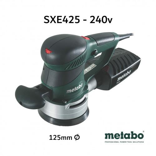 Metabo - SXE425 - 125mm Random Orbit Sander - 240V