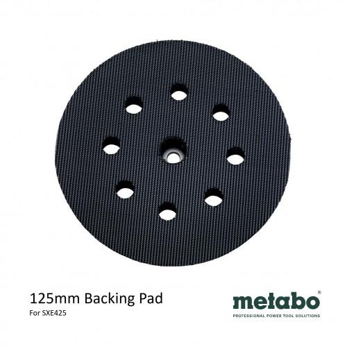 Metabo - SXE 425 - Hook & Loop Backing Pad - 125mm