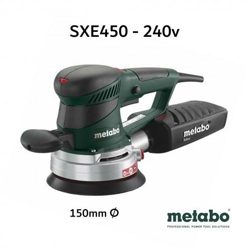 """Metabo - SXE450 - 150mm - 6"""" Random Orbit Sander - 240V"""