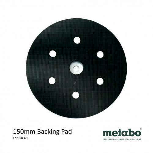 Metabo - SXE 450 - Hook & Loop Backing Pad - 150mm