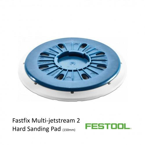 Festool - Circular Backing Pad - Multi Jetstream 2 - Hard - Fits Rotex RO 150 - (202463)