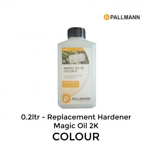 0.2ltr: Pallmann - Hardener - for Magic Oil Colour 2K