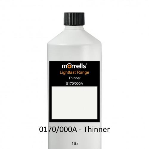 1ltr: Morrells - Thinners - Light Fast - 0170/000A