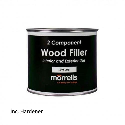 0.75ltr: Morrells - Profill 46 Range - 2K Filler - Light Oak - 4682/100L