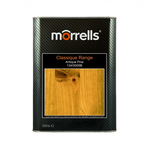 5ltr: Morrells - Classique Stain - Antique Pine - 134/0005B