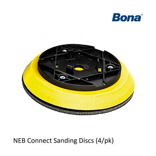 1pk: Bona - FlexiSand - NEB Yellow Backing Pad - (4/pk)