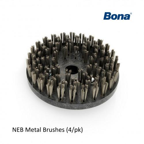 1pk: Bona - FlexiSand - NEB Metal Brushes - (4/pk)