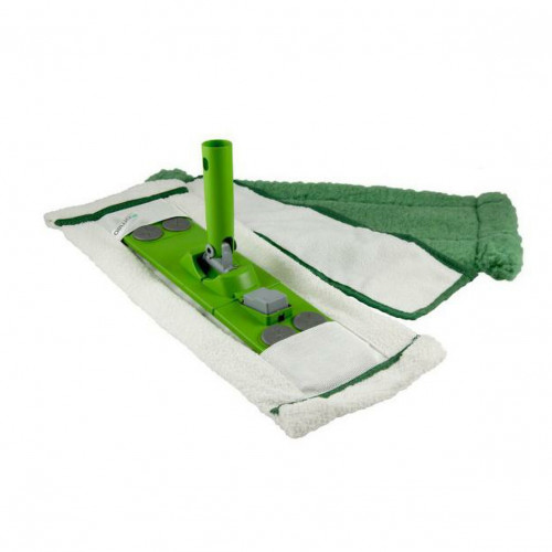 Osmo - Floor Cleaning Kit - Contains: Dust Mop, Micro Mop, Active Fibre Cloth & Mop Head