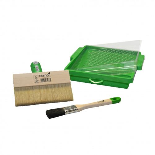 Osmo - Decking Brush Set - Contains: Decking Brush & Tray & Handheld Brush