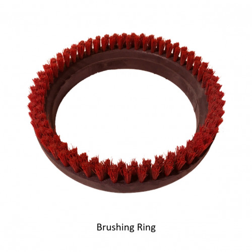 Osmo - FloorXcenter - Red Brushing Ring [Ø] 300mm *SPECIAL ORDER*