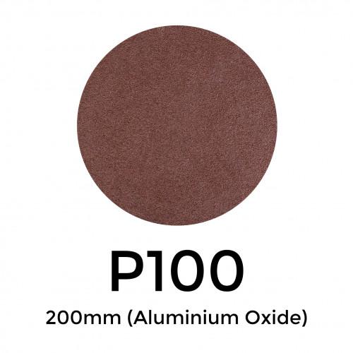 1 Box: P100 - Starcke - Aluminium Oxide - Hook & Loop Sanding Discs - 200mm - (50/Box)
