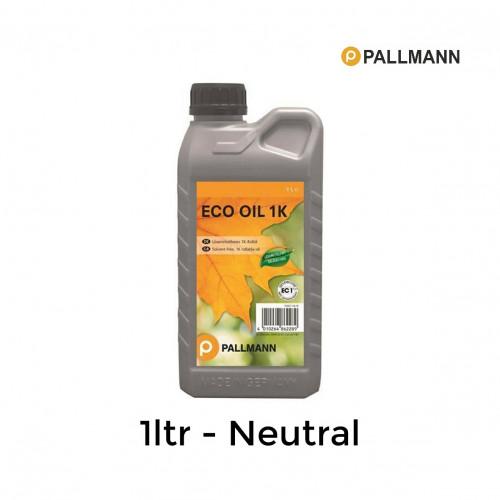 1ltr: Pallmann - Eco Oil 1K - Neutral