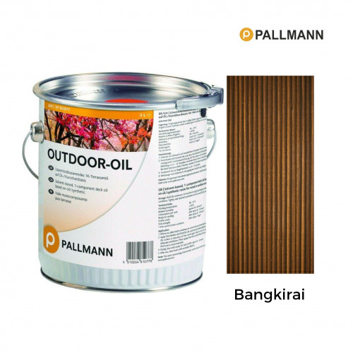 3ltr: Pallmann - Outdoor Oil 1K - Bangkirai