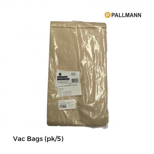 1pk: Pallmann - Paper Filter Vac Bags For Starvac Vacuum - (5/pk)